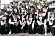 ベトナム在住の中高生、ハノイで独島愛フラッシュモブを披露