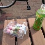『【速報】俺無職、公園のベンチで三色団子を食べる(´・ω・`)』の画像