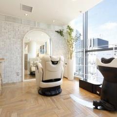 銀座で個室の美容室ならMINXの「天空のVIP ROOM」へ
