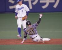 【阪神】盗塁王中野!23個目の盗塁成功!!