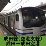 『成田線(空港支線)車窓[下り]成田→成田空港』の画像