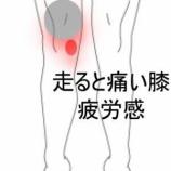 『ランニング時の膝の痛み 室蘭登別すのさき鍼灸整骨院 症例報告』の画像
