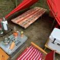 シュラフを2重にするとダウンシュラフなんて必要なし!冬キャンプにおすすめ。