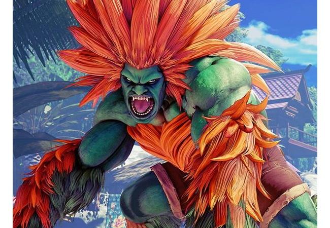 カプコン「ブラジル人のキャラかぁ…緑色の肌で髪オレンジの放電するゴリラでええか」