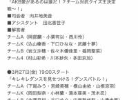 【速報】 AKB48劇場 配信限定イベントキタ━━━━(゚∀゚)━━━━!!