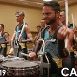 『【DCI】ドラム必見! 2019年キャデッツ・ドラムライン『インディアナ州インディアナポリス』本番前動画です!』の画像
