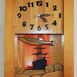 『道南いさりび鉄道 「咸臨丸壁掛け時計」の設置について』の画像