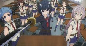 【武装少女マキャヴェリズム】第1話 感想 共学化で変わってしまったお嬢様学校