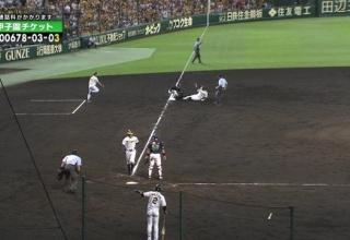 【悲報】阪神さん、執念のカケラもない画像を撮られてしまう