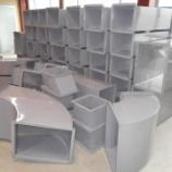 『【塩ビライニング鋼板製ダクト 製作】』の画像