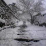 『京都の冬 雪景色の大原』の画像