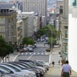 『サンフランシスコ旅行記14 途中でケーブルカーを手押ししてロンバート・ストリートへ』の画像