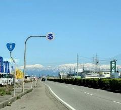 国道8号『中島~本郷』間を立体交差化する工事をするらしい。