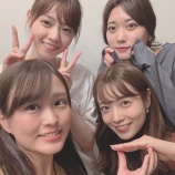 『【乃木坂46】スイカメンバー 昨日は4人であな番を見て、映画のレイトショーに行った模様!!!!』の画像