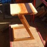 『オリジナル杉サイドテーブルの完成』の画像