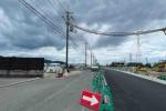 新しい道路もできてる。第二京阪沿いの場所は広大な広場みたいな現状〜星田駅北土地区画整理事業の進行状況〜
