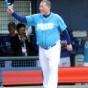 【野球】清原が逮捕後初のユニホーム姿でグラウンドに立つ