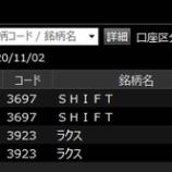 『本日の成績 +8,120円(税引き前)』の画像