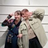 『松村沙友理&伊藤万理華の2ショットが到着!! 2人とも笑顔が素敵!【乃木坂46】』の画像