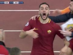 【 動画 】バルサから前代未聞の逆転勝利をあげたローマさん、試合後ウッキウキで騒ぎまくるw