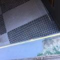 バイクガレージの床塗装
