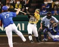 阪神・糸原、3試合ぶり打点「なんとしても次につなぐという気持ちだった」