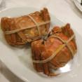 シンガポールで上海ガニを食べました。