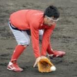 """『【野球】広島・梵が完全復活へ、琢朗から30分以上も""""愛のノック""""』の画像"""