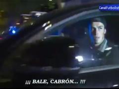 【動画】レアルのベイルがCL敗退後の帰宅時にファンからブーイング!