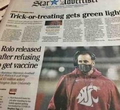 ワクチンを拒否して職を失う