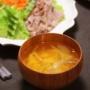 【献立】ほたてご飯と冷しゃぶサラダと。~セミの婚活~