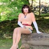『私のショートパンツスタイル ~小諸懐古園にて~』の画像