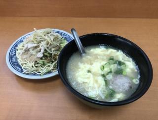 【台北・松江南京】偉富麺館 ザーサイと豚肉が入った涼麺が具沢山で美味しい