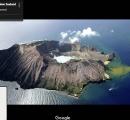 NZホワイト島の火山が噴火 直前に噴火口の内側を歩く観光客の姿 複数行方不明 負傷者も