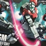 『GMジム製作記1・開封とランナー紹介』の画像