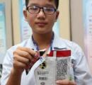 手を汚さずにスナックを!台東の中学生が国際発明賞