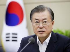 【もう韓国ダメそう…】ムン大統領、緊急声明