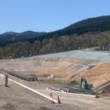 『玖珠町太陽光発電所 調整池進捗状況(続報)』の画像
