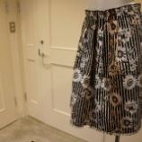 『PF by PAOLA FRANI フラワージャガードスカート』の画像