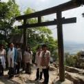 琵琶湖ツアー 三上山(近江富士)山頂での不思議写真!?