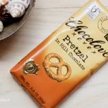 『ぽきぽき食感にチョコレートが合う! Chocolove のプレッツェルインミルクチョコレート。』の画像