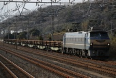 『2018/1/20~21運転 EF66-27ロングレール輸送』の画像