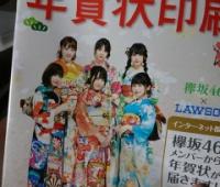 【欅坂46】ローソン年賀状もパンフレットあるみたい