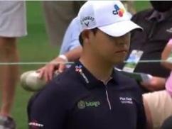 ゴルフマスターズ、松山英樹に負けた韓国人ゴルファーが発狂してこんな行動にwwwwww よっぽど悔しかったんだろうなwwww