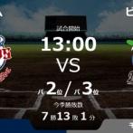 試合実況 9月14日13:00~ 西武-ロッテ (先発 今井×西野)