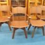 飛騨清見工房の椅子4脚セット・横浜市金沢区のリサイクルショップ