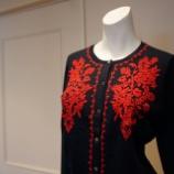 『KEITA MARUYAMA(ケイタマルヤマ)ベーシック刺繍カーディガン』の画像