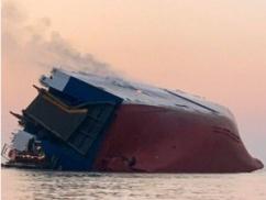 韓国船、アメリカの港で日本船を煽る ⇒ 韓国船転覆 ⇒ 韓国「日本船が邪魔だった。日本が悪い」