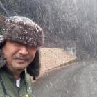 『どか雪の明延鉱山、神子畑鉱道あたりの景色』の画像