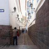 『ペルー旅行記8 世界遺産クスコの芸術的な石積みに感動!』の画像